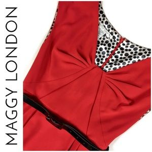 """Maggy London Dresses - NWOT!  Maggy London """"Red Turns Heads"""" Dress"""
